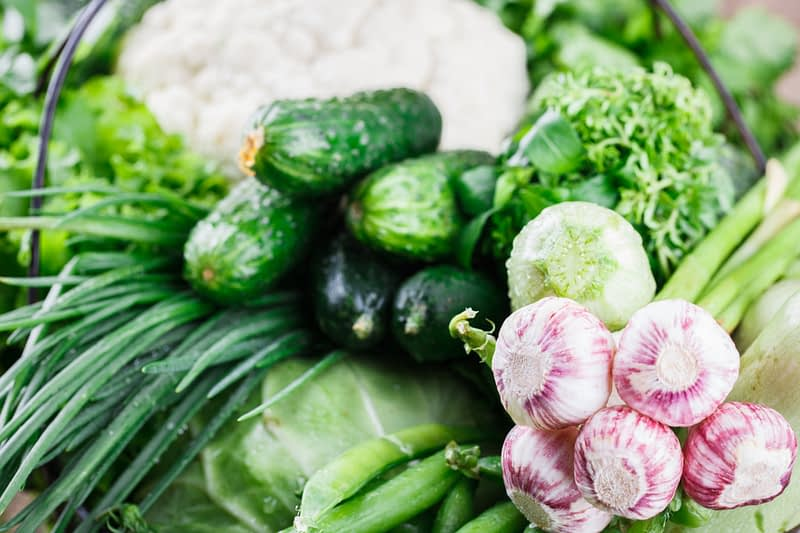 Vegetables variety